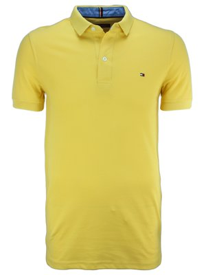 Желтая футболка поло Tommy Hilfiger T3
