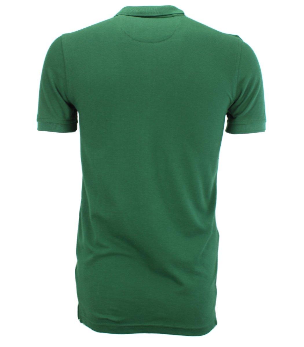 Тёмно-зелёная классическая футболка поло Gant G2