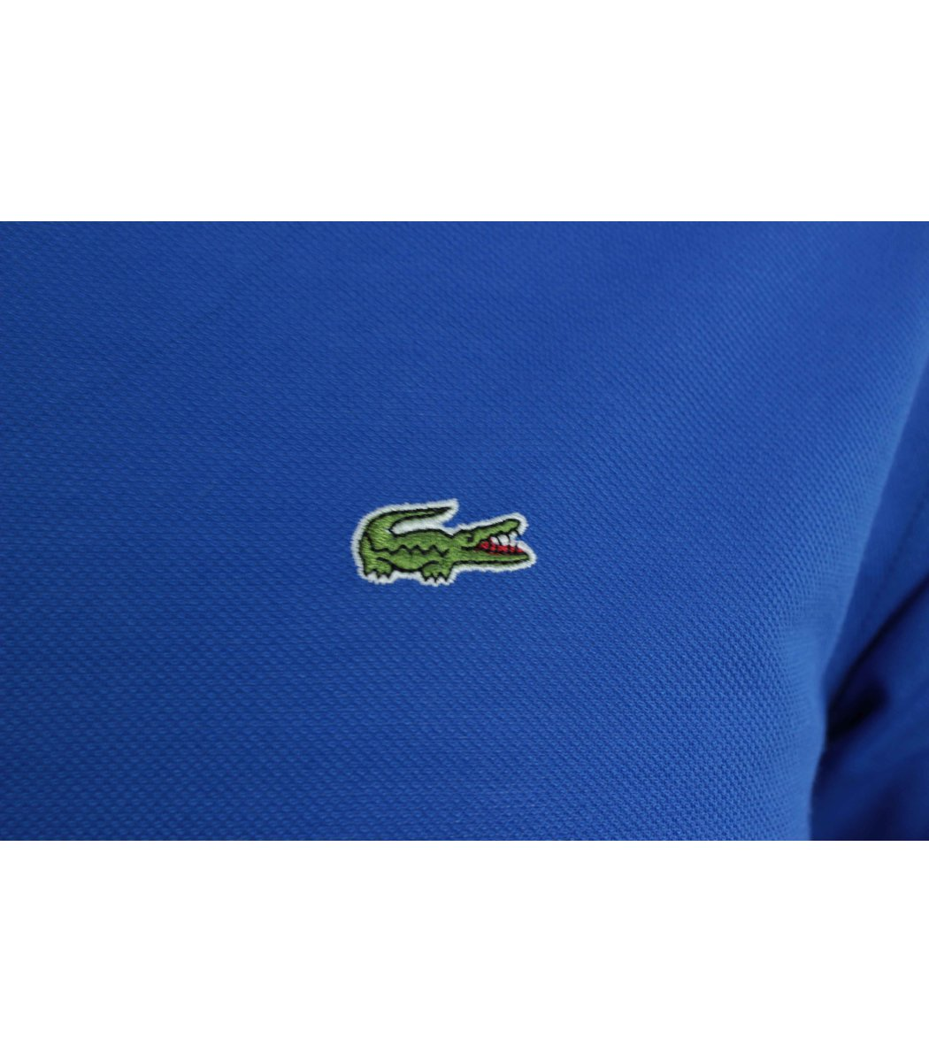 Синяя футболка поло Lacoste FR