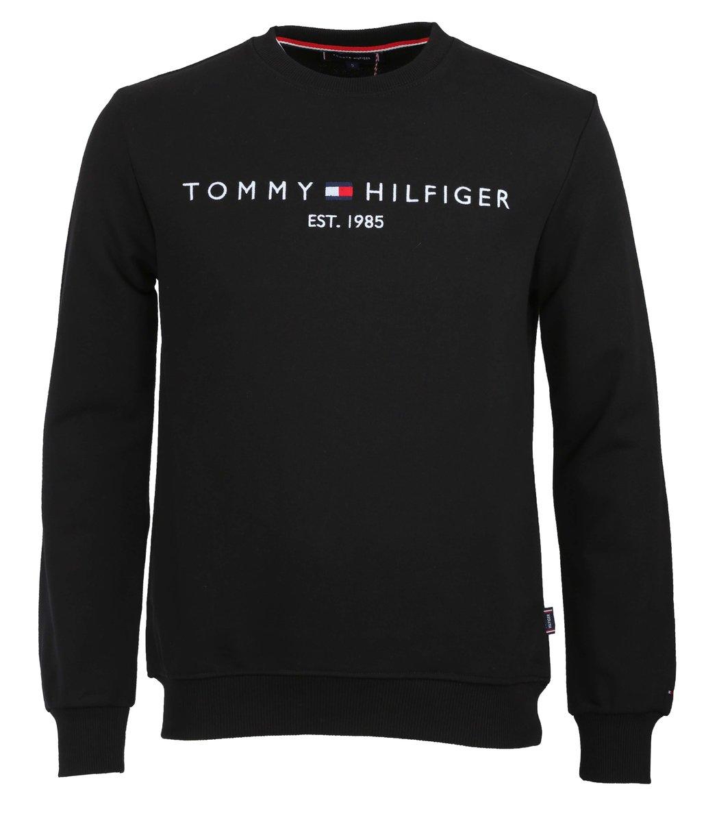 Чёрный свитшот  Tommy Hilfiger STH1