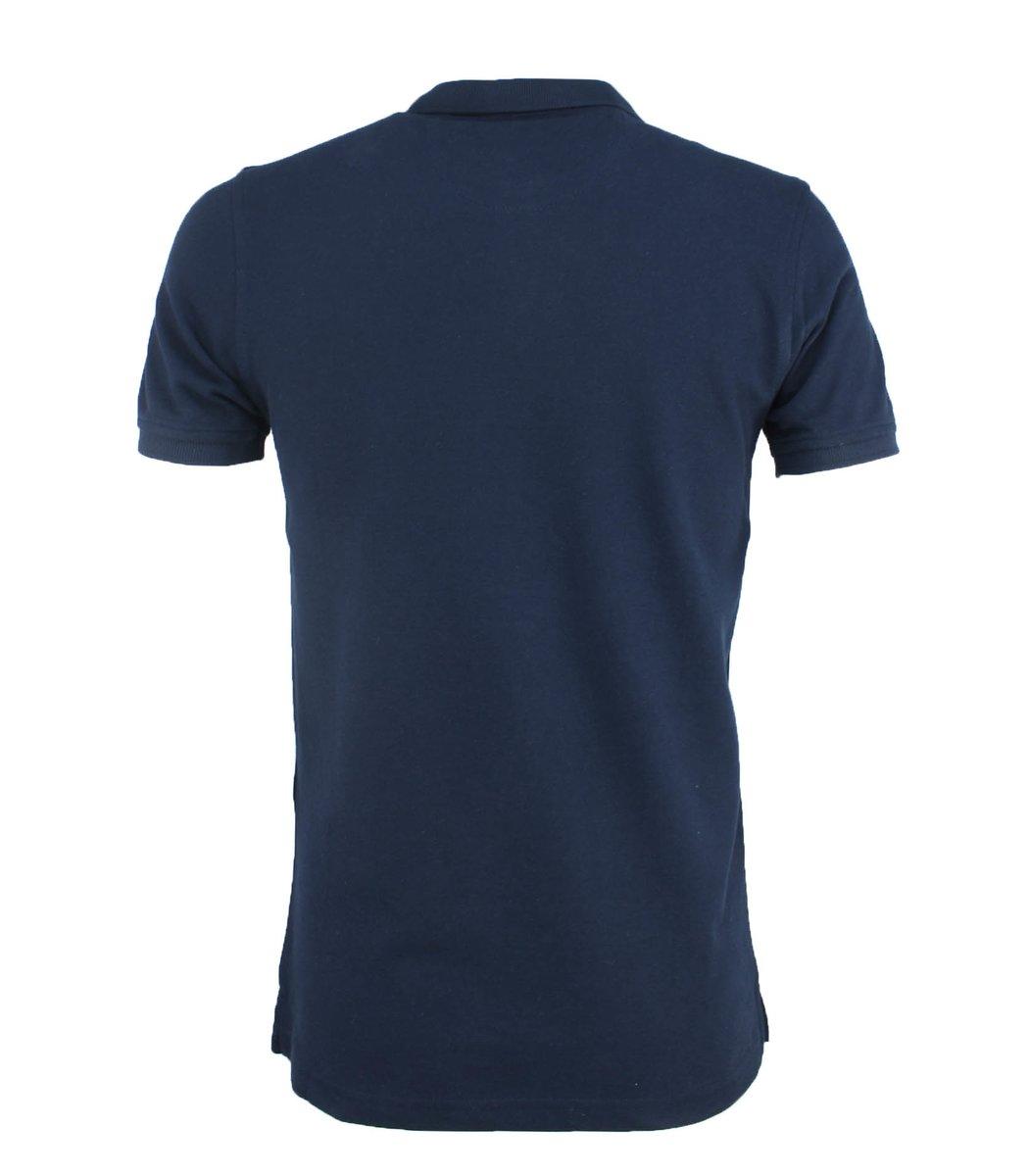 Тёмно-синяя футболка поло Paul&Shark F3