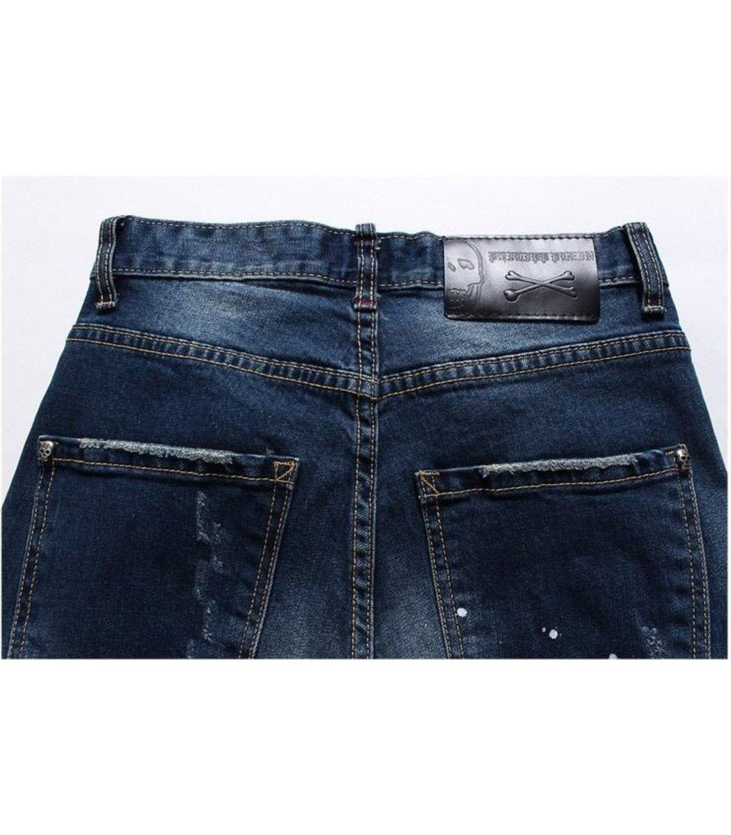 Синие джинсы Philipp Plein 0189
