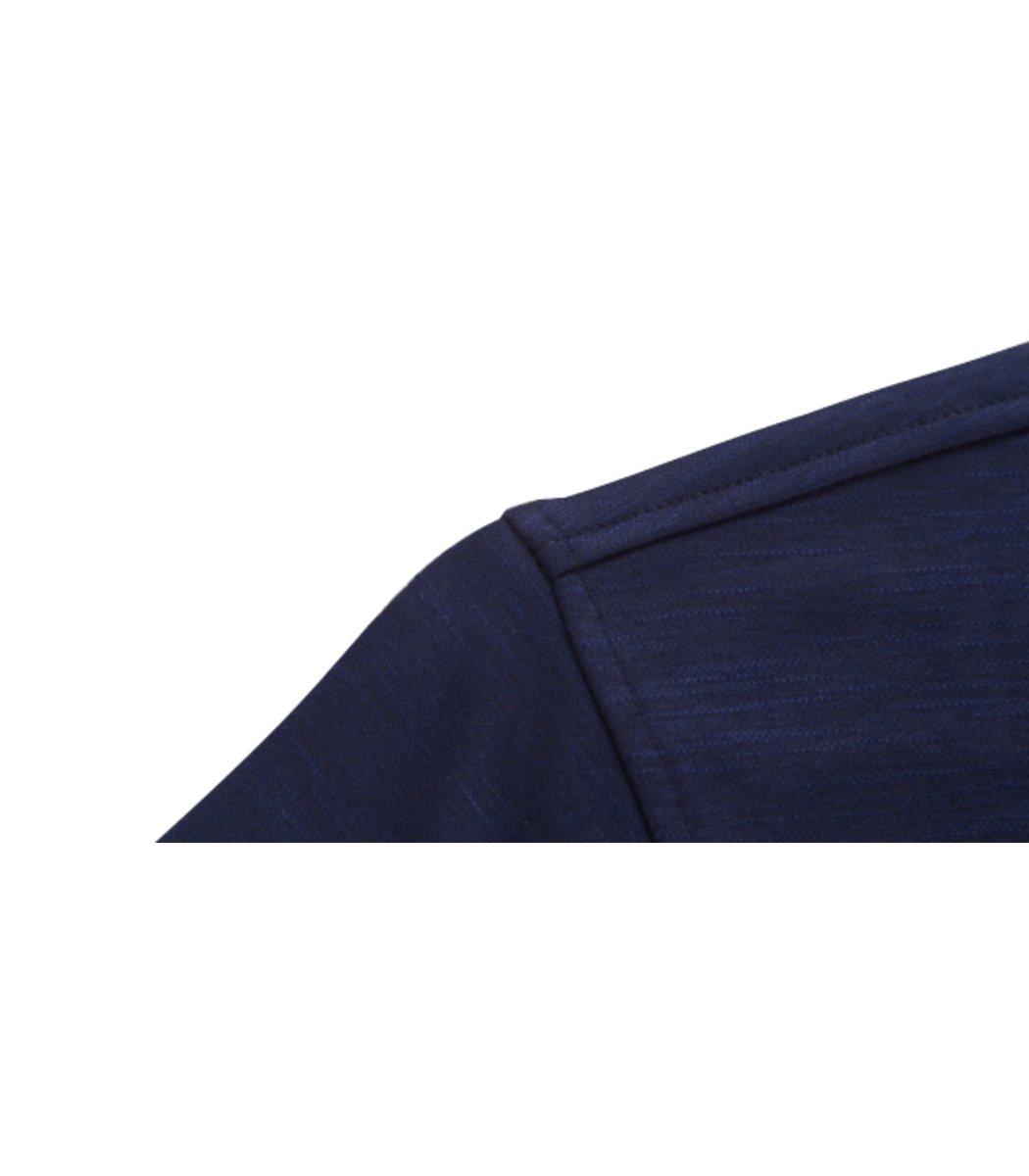 Тёмно-синее поло с длинным рукавом Paul&Shark P2