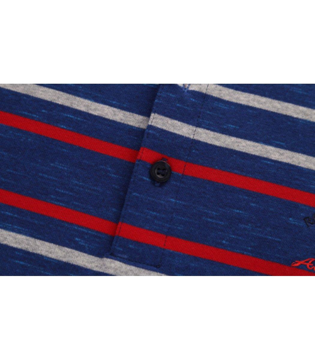 Поло с длинным рукавом Paul Shark PS1 (Синий/Белый) - Синий/Белый - Вид 5