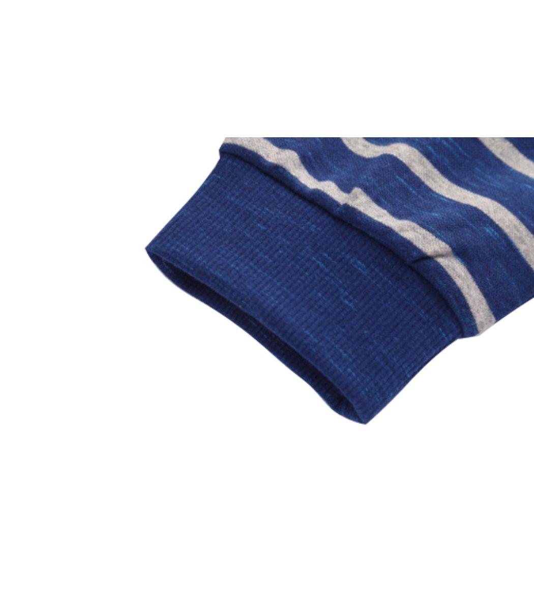 Поло с длинным рукавом Paul Shark PS1 (Синий/Белый) - Синий/Белый - Вид 8