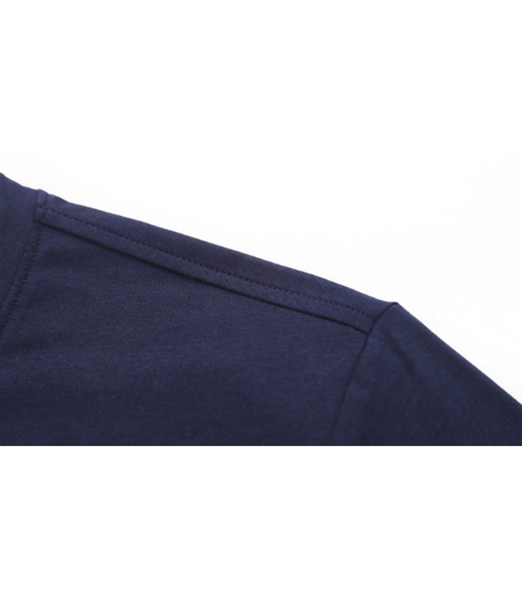 Синий лонгслив Paul&Shark L3