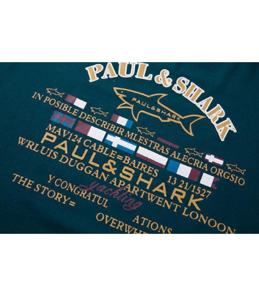 Лонгслив Paul&Shark L1 (Зеленый)