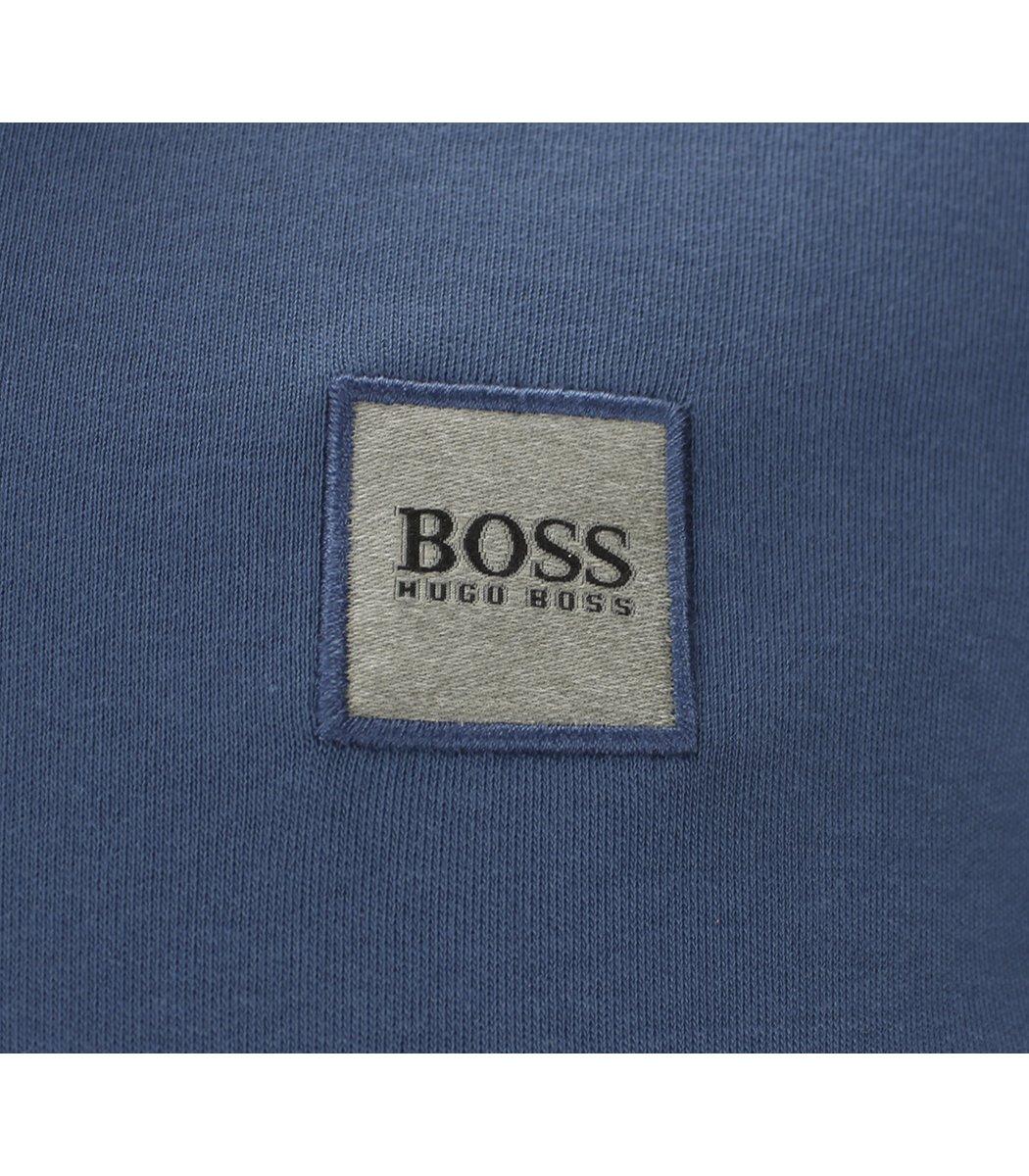 Синее поло с длинным рукавом Hugo Boss PB2