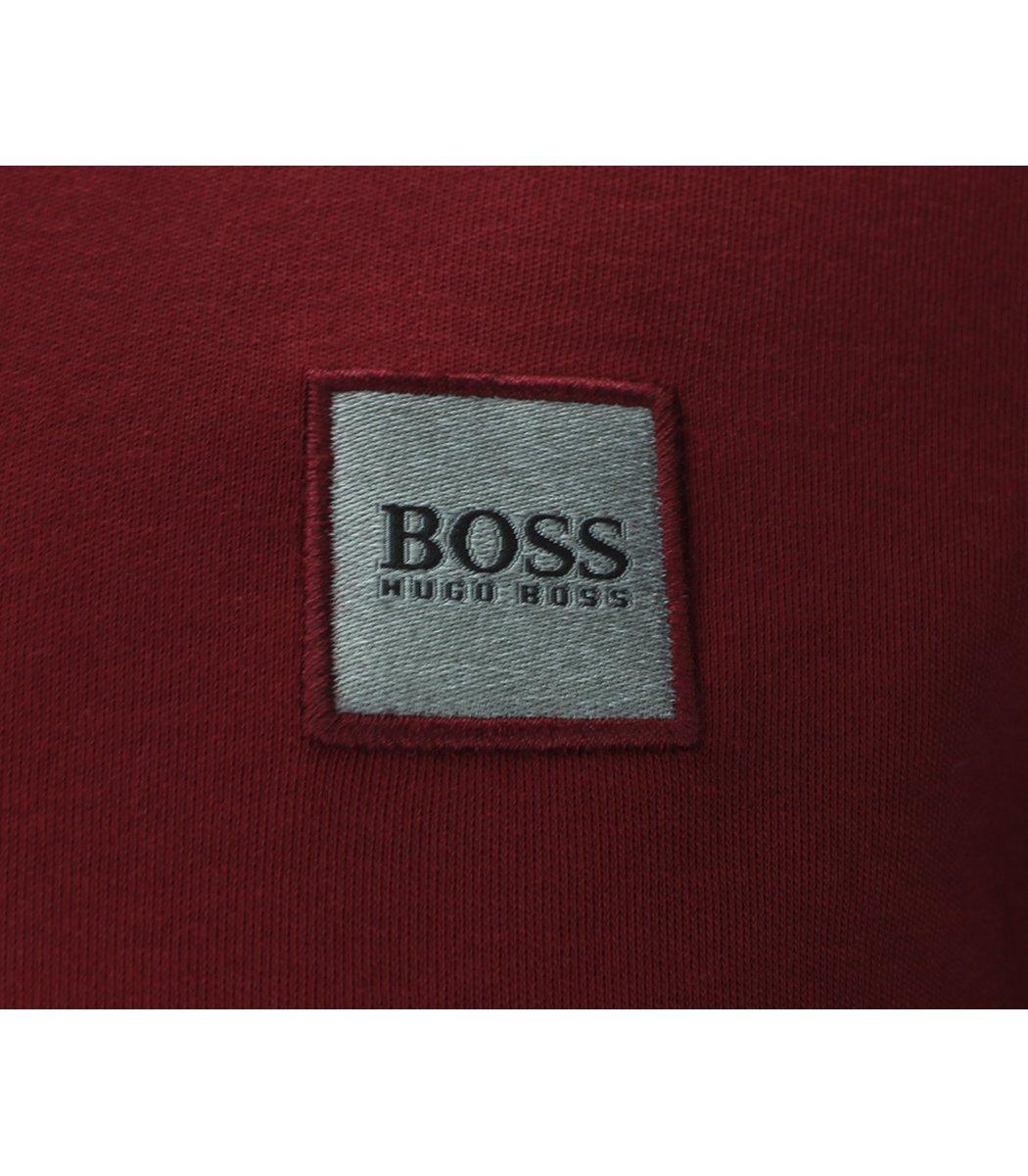 Красное поло с длинным рукавом Hugo Boss PB2