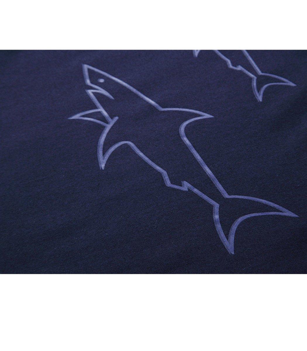Синий лонгслив Paul&Shark LP1