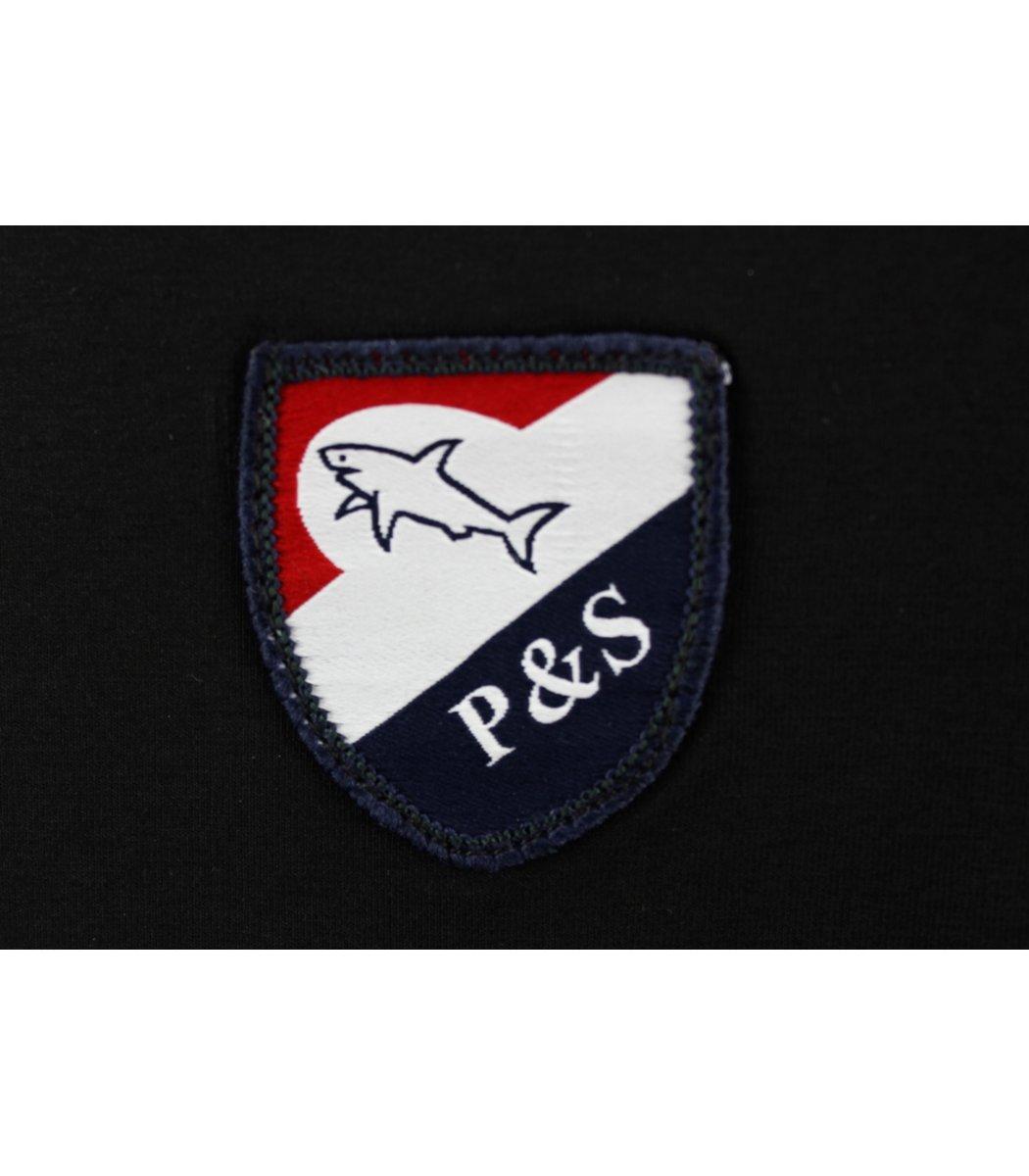 Черный лонгслив Paul&Shark LP4