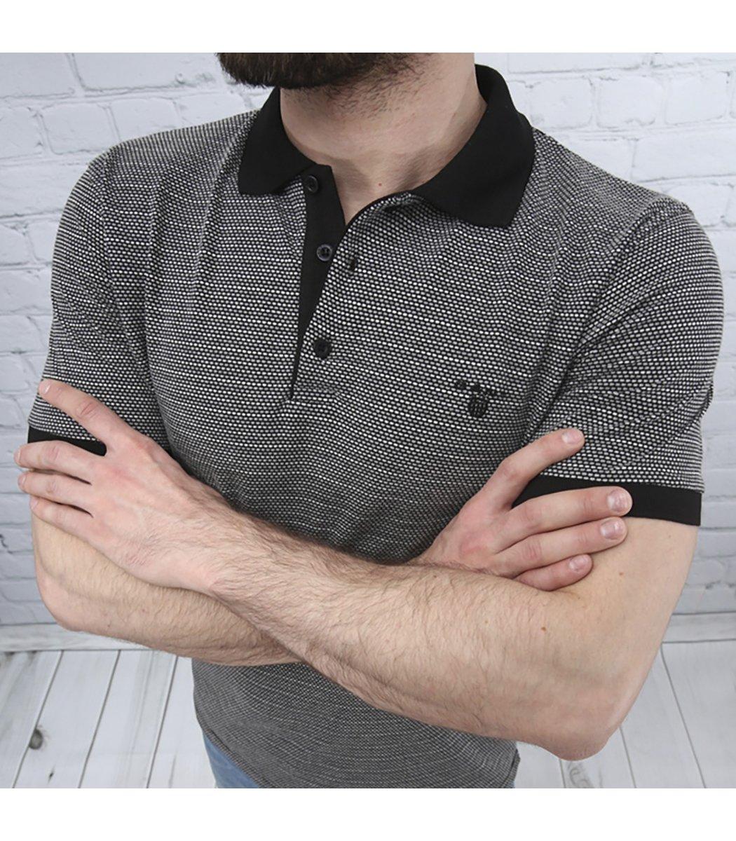Черная футболка поло Gant G1 - Черный - Вид 4