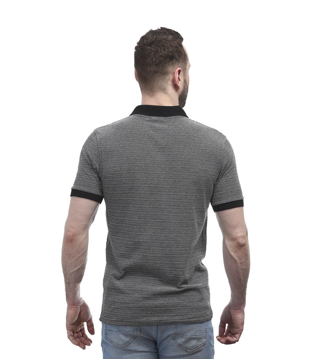 Черная футболка поло Gant G1 - Черный - Вид 6