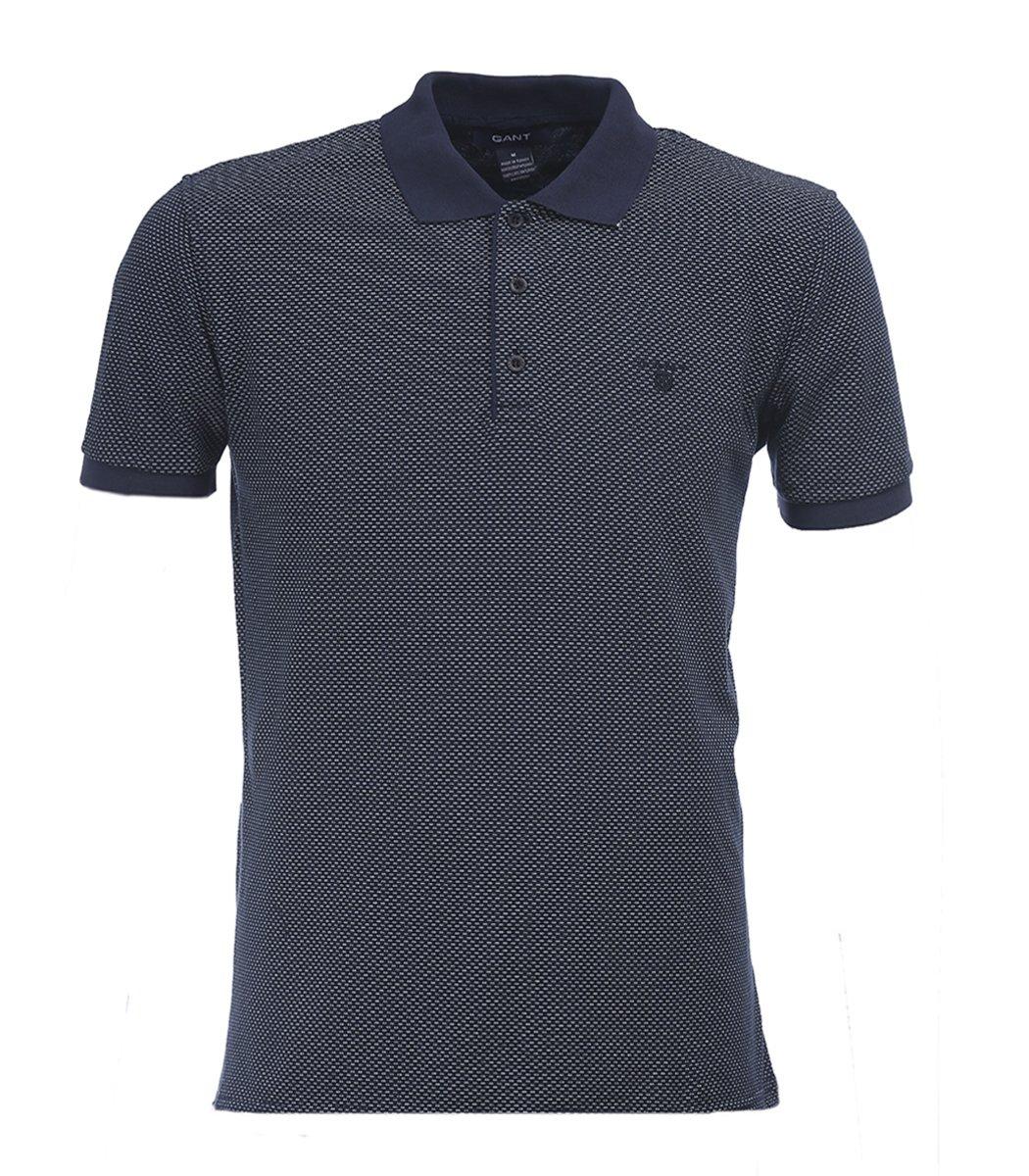 Синяя футболка поло Gant G1