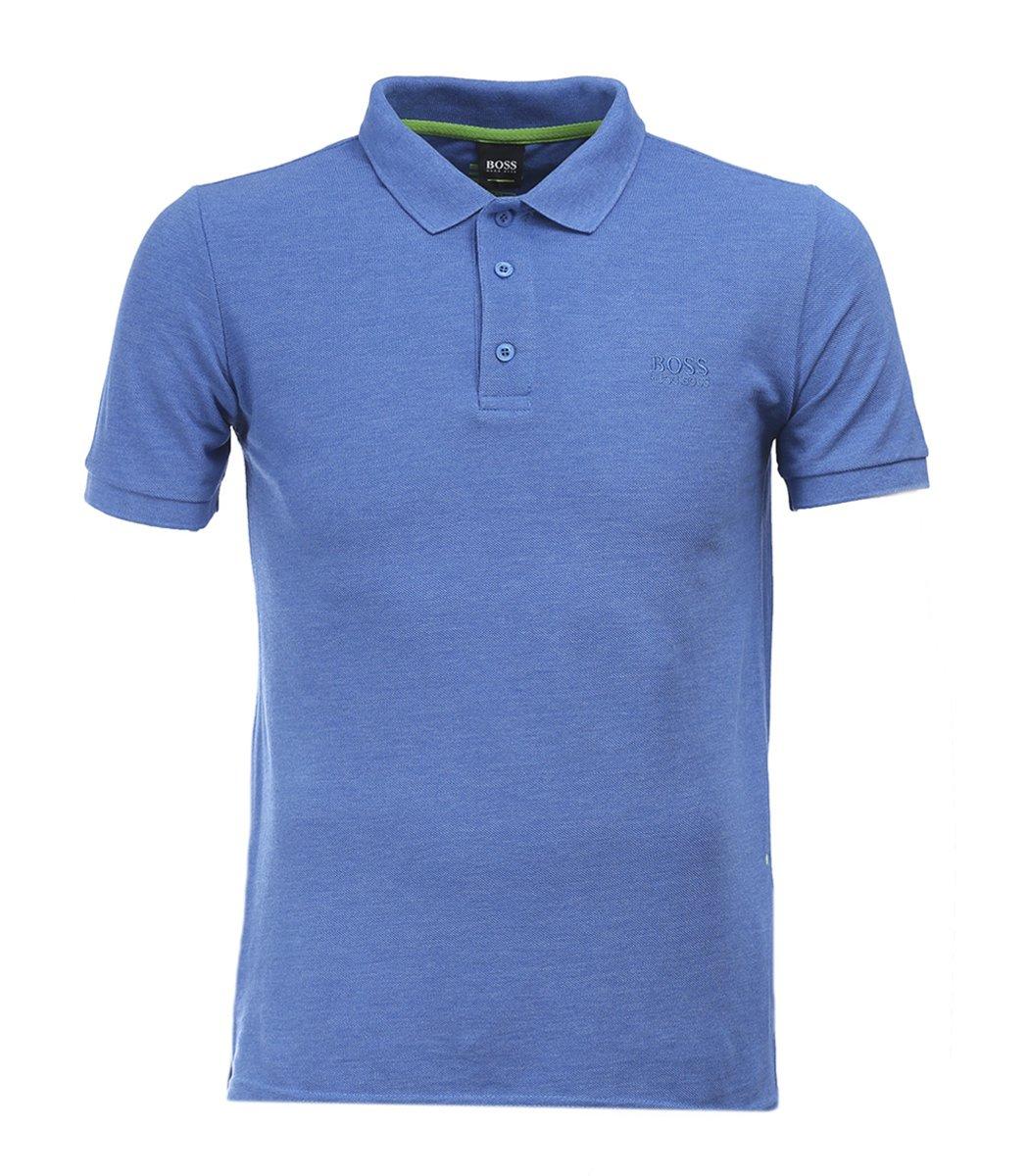Классическая голубая футболка поло Hugo Boss HB5