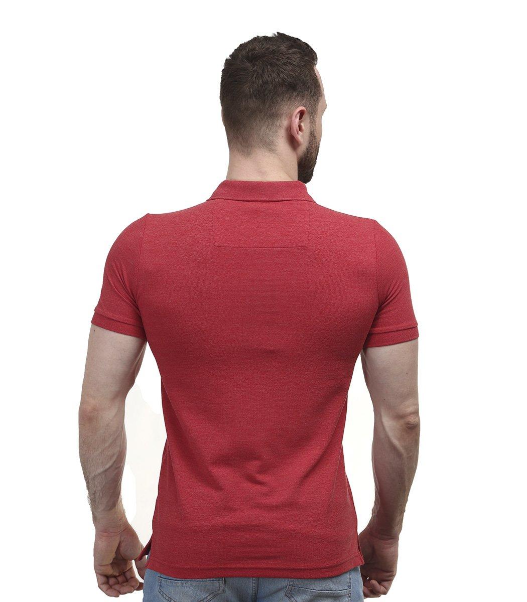 Классическая красная футболка поло Hugo Boss