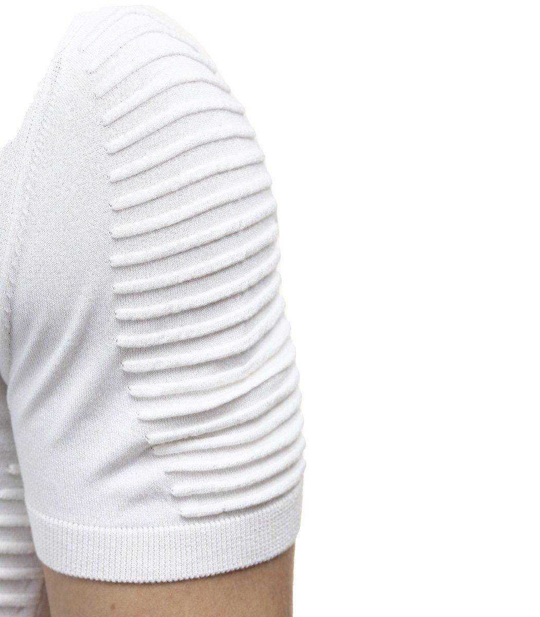 Белая футболка поло Ralph Lauren c драпировкой R9