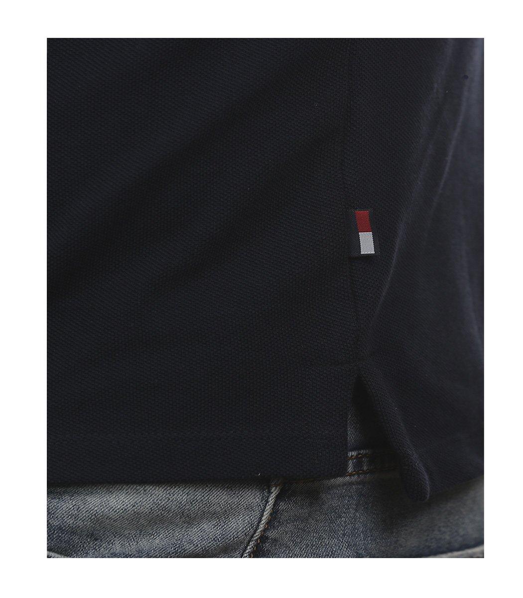 Темно-синяя футболка поло Tommy Hilfiger TH3-T