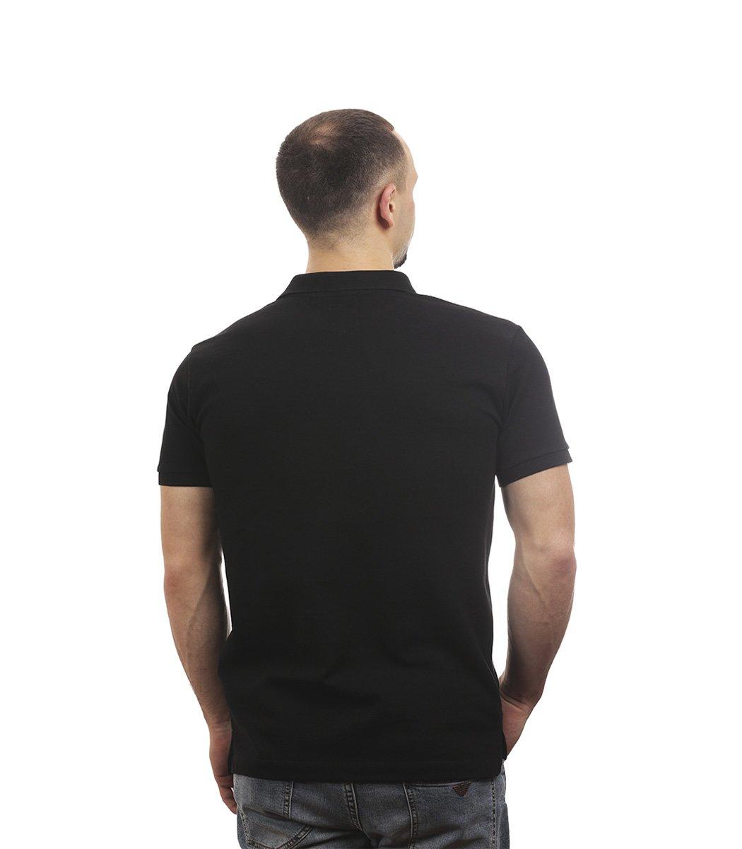Черная футболка поло Tommy Hilfiger