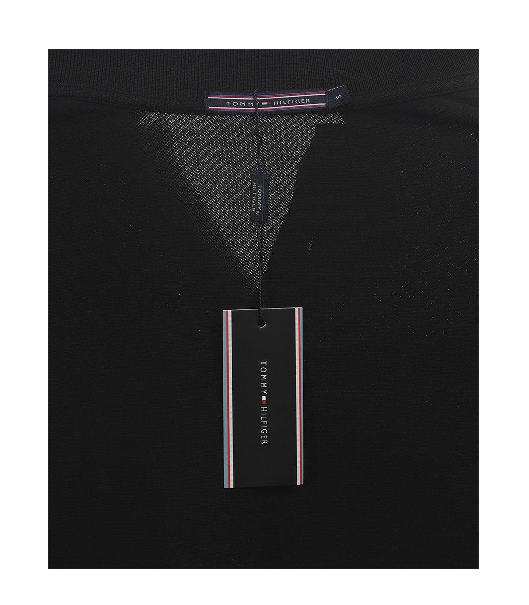 Черная футболка поло Tommy Hilfiger - Черный - Вид 5