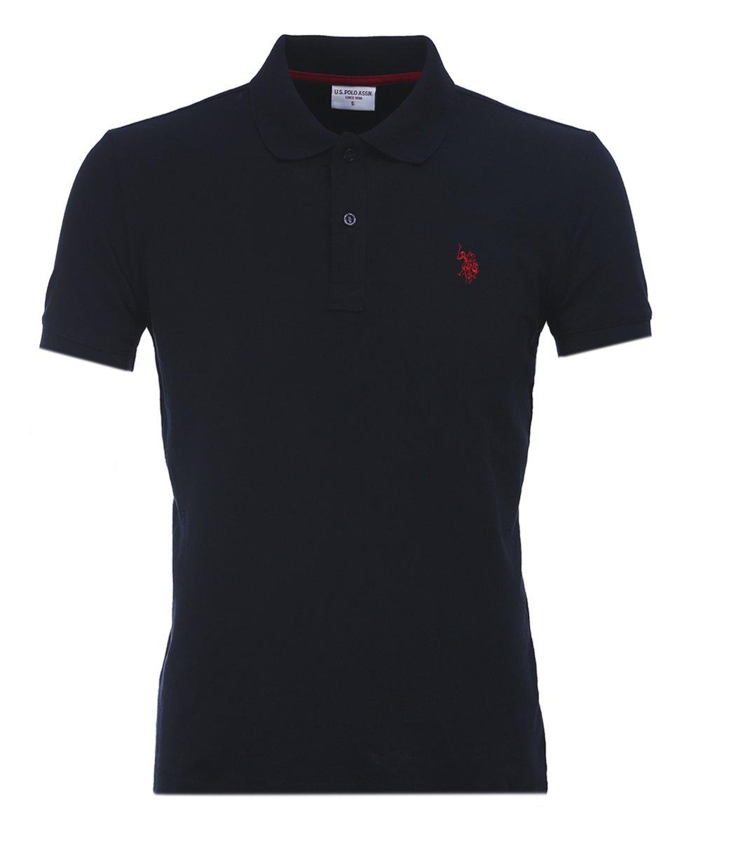 Темно-синяя футболка поло U.S.Polo U1