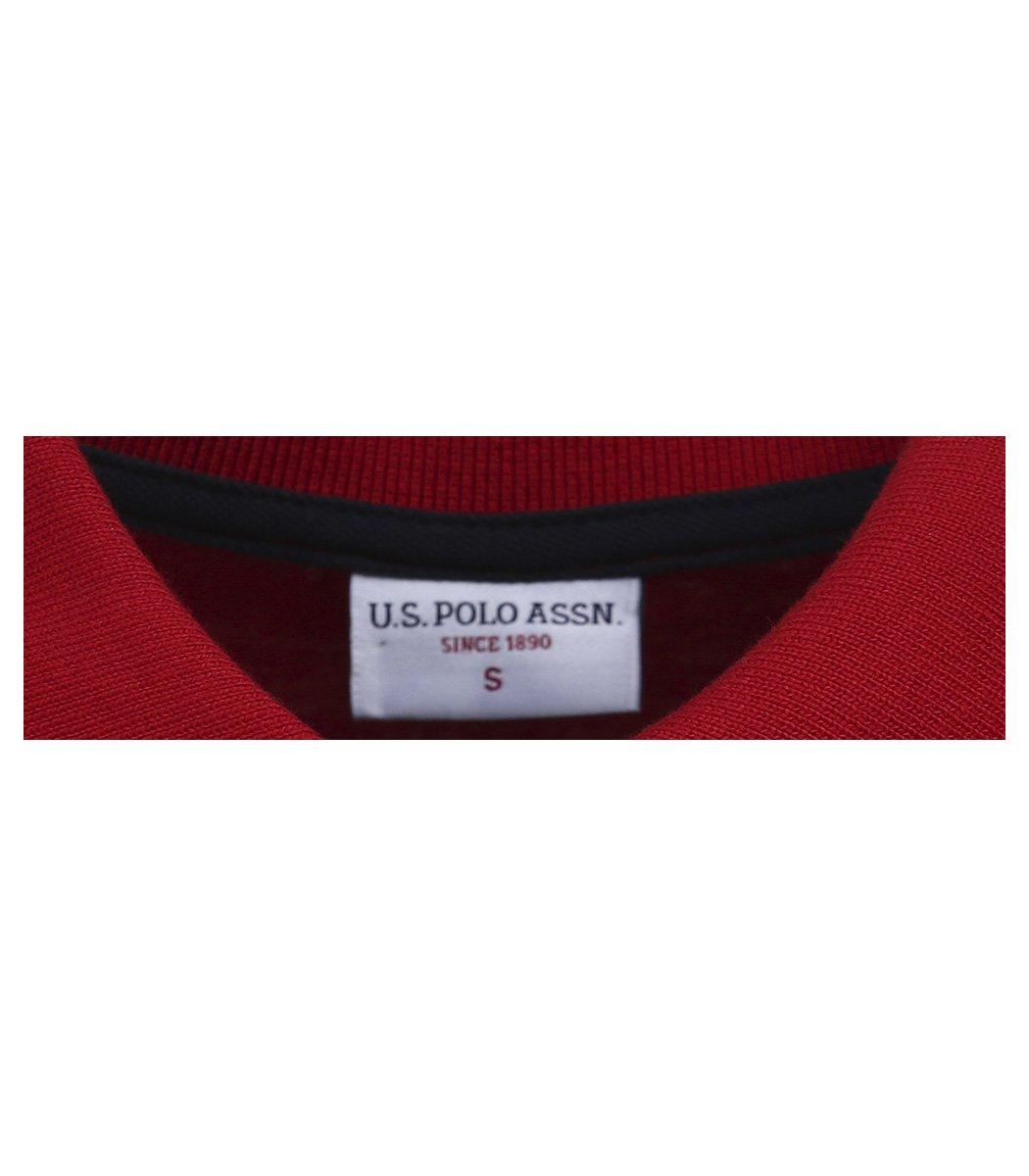 Красная футболка поло U.S.Polo ASSN U1 - Красный - Вид 6