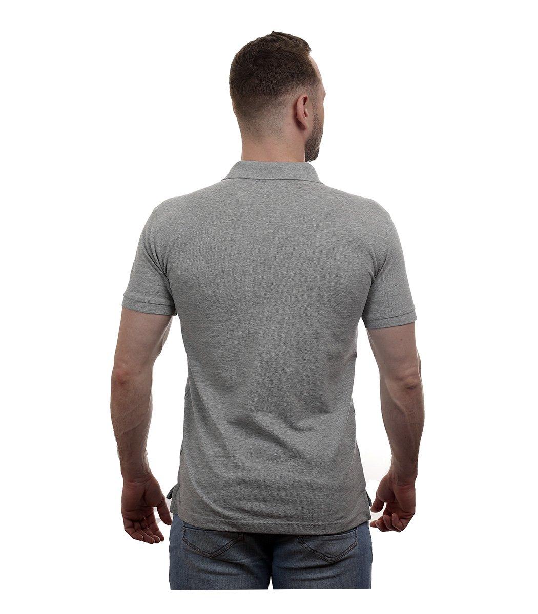 Серая футболка поло Lacoste - Серый - Вид 6