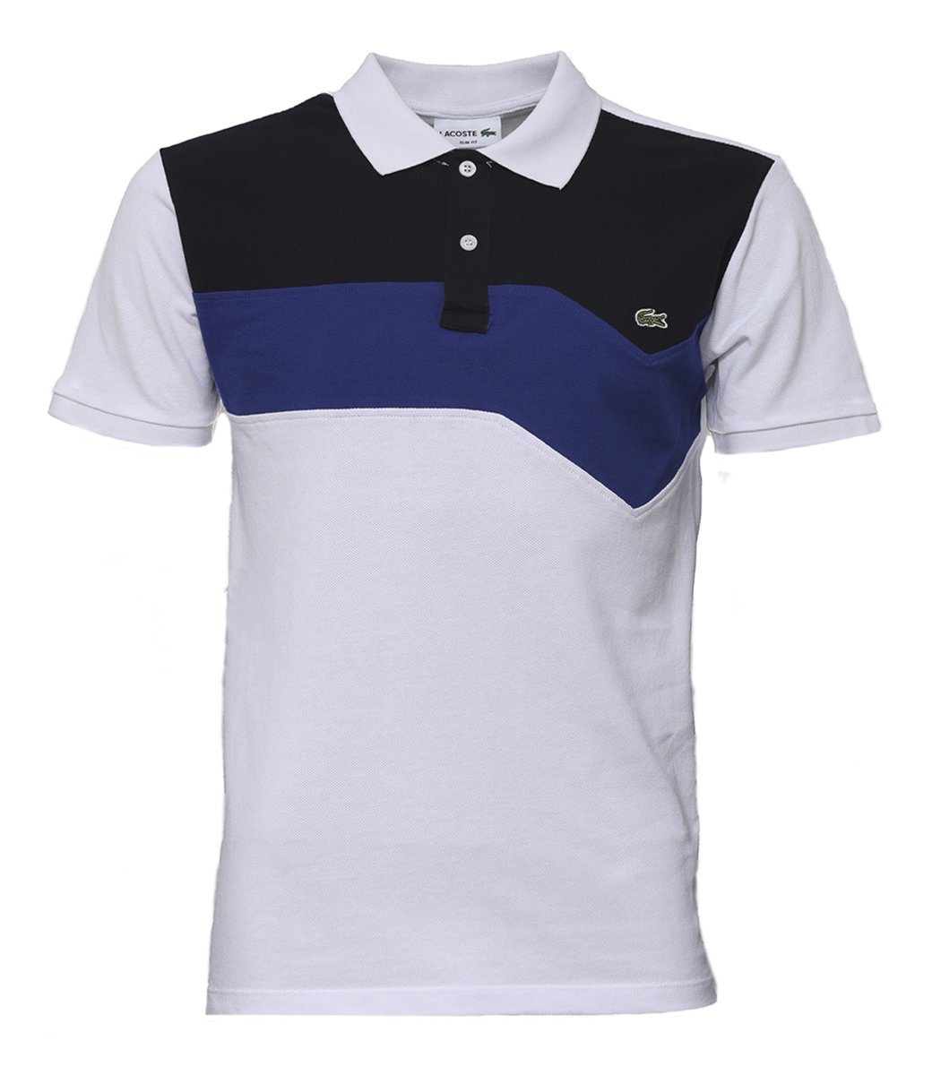 Белая футболка поло Lacoste - Белый - Вид 1