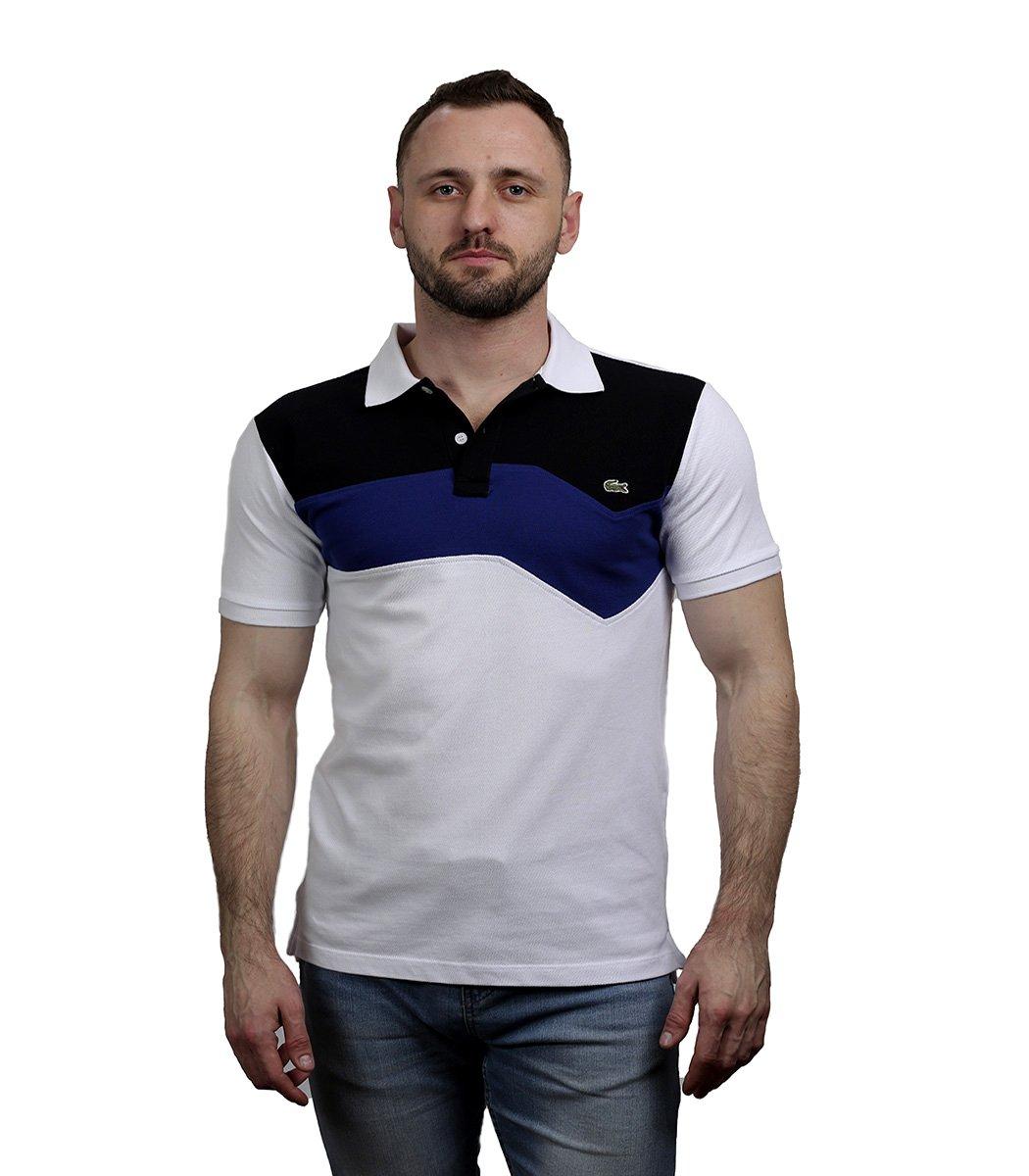 Белая футболка поло Lacoste - Белый - Вид 3