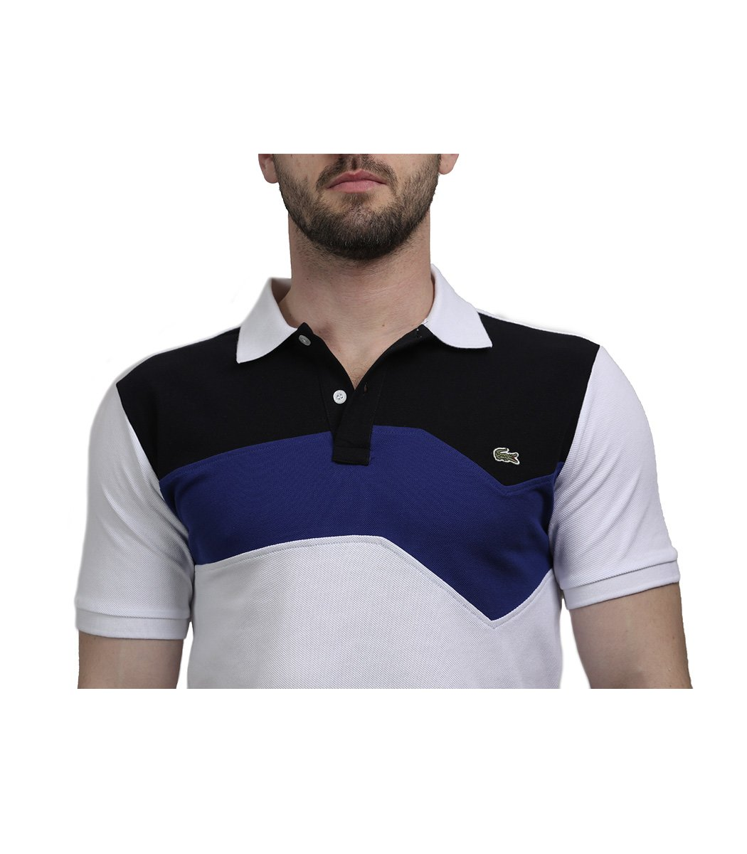 Белая футболка поло Lacoste - Белый - Вид 4