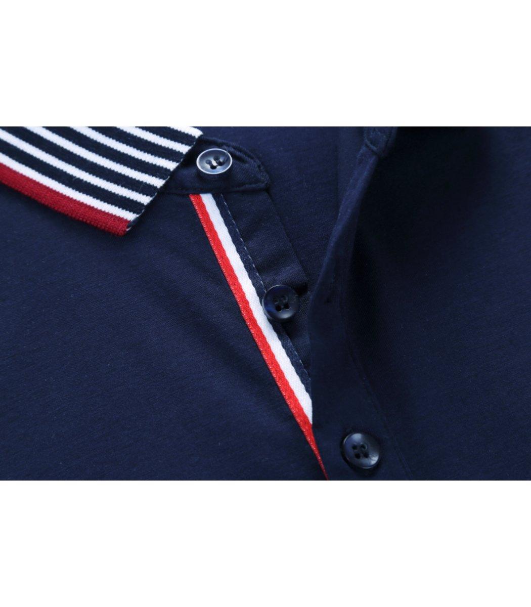 Темно-синяя футболка поло Paul&Shark N5