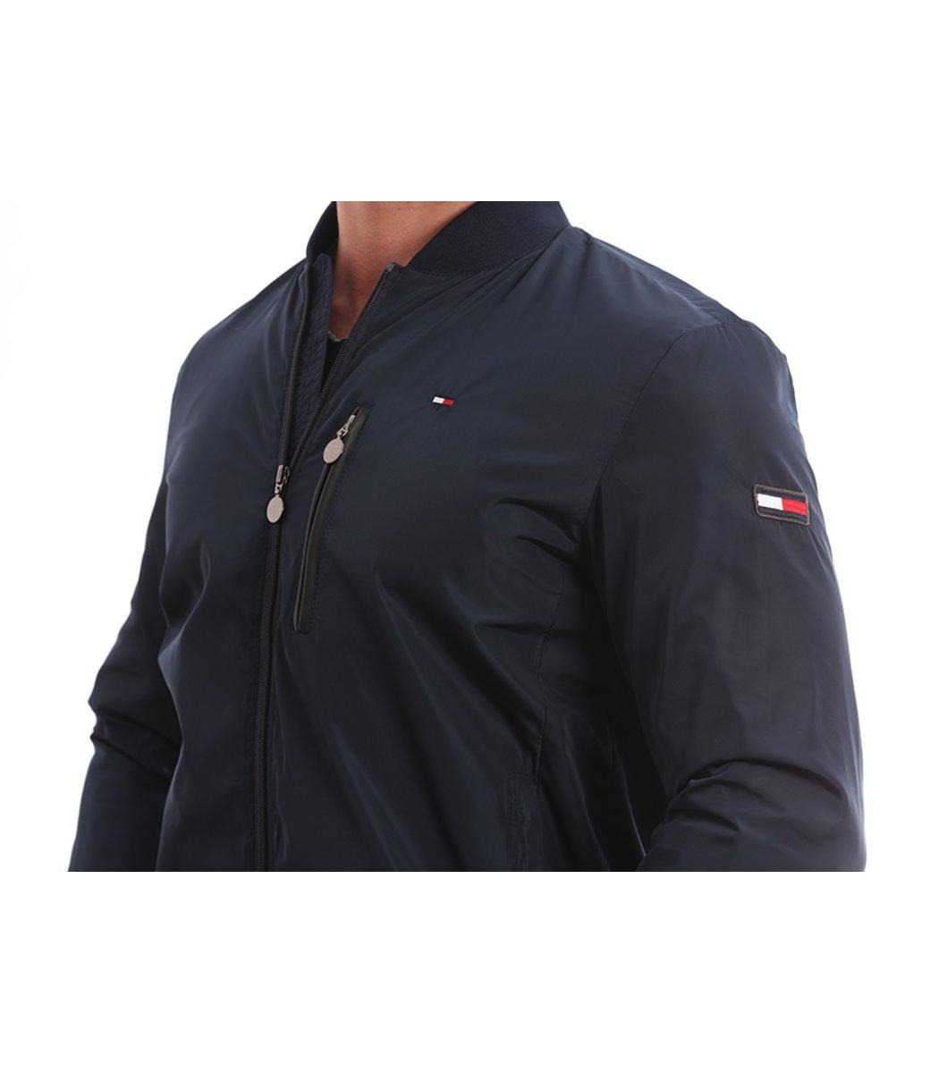 Куртка-бомбер Tommy Hilfiger KT1  - Синий - Вид 5