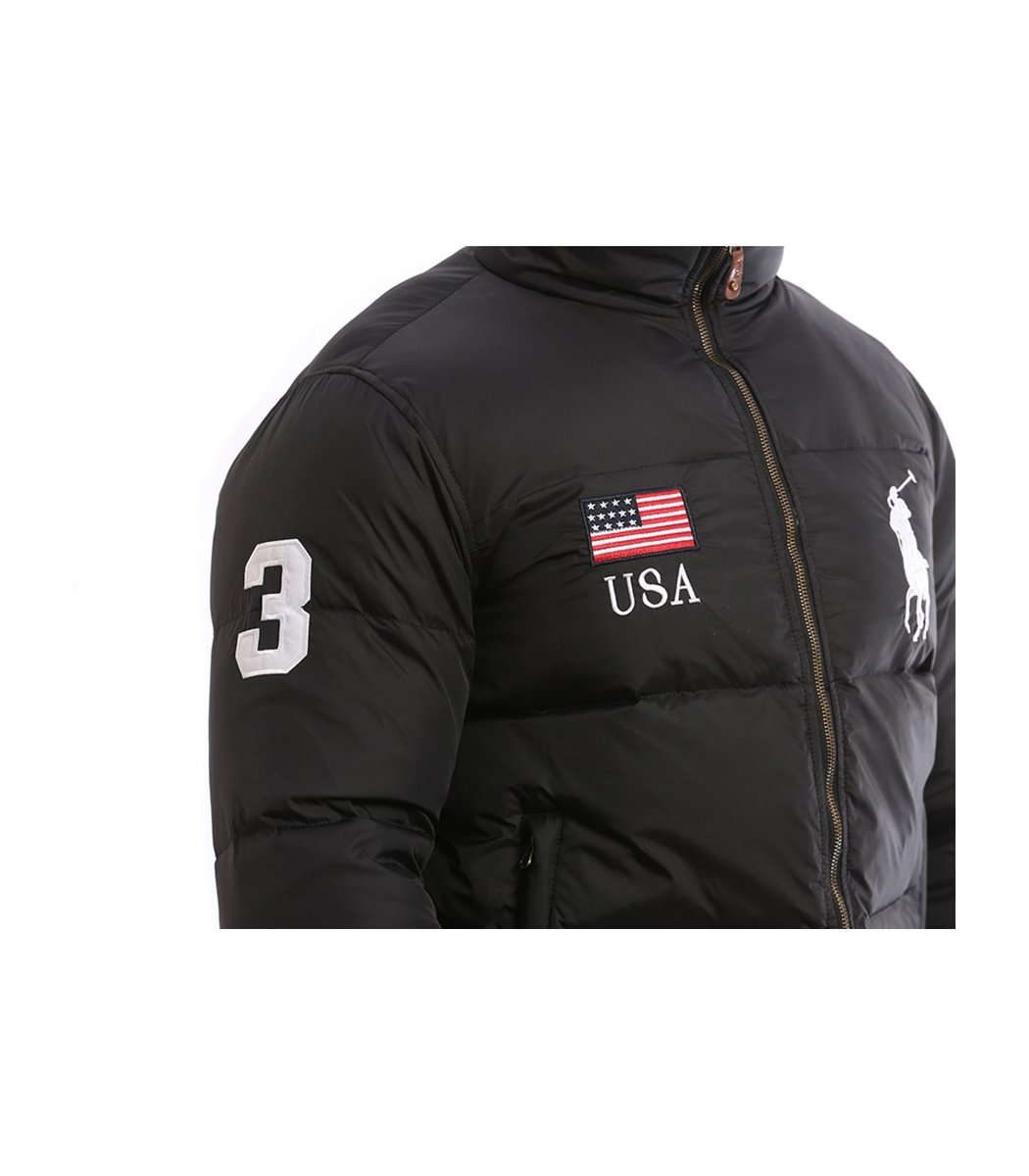 Пуховик POLO Ralph Lauren KR2 USA (Черный)