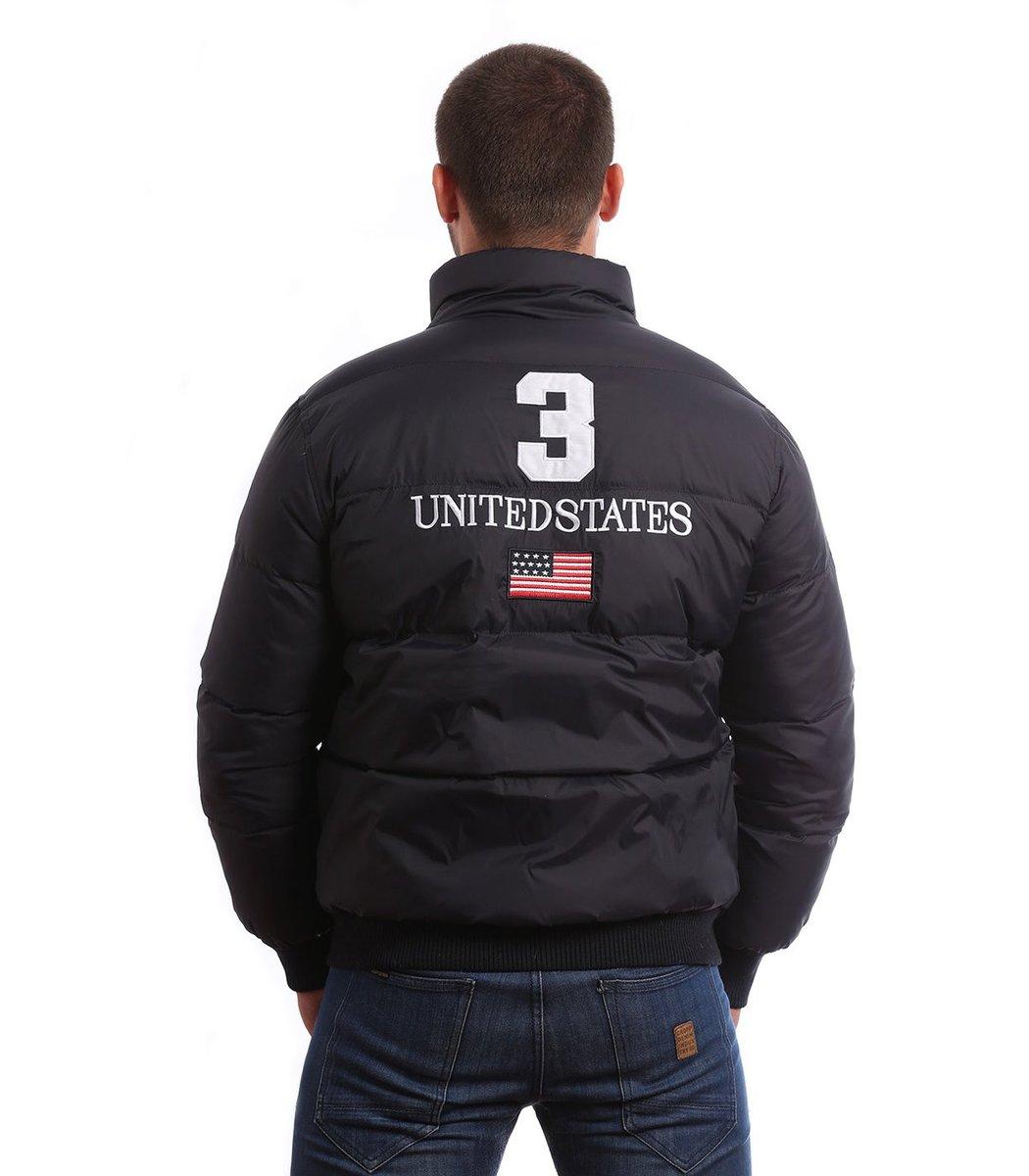 Пуховик POLO Ralph Lauren KR2 USA (Темно синий)