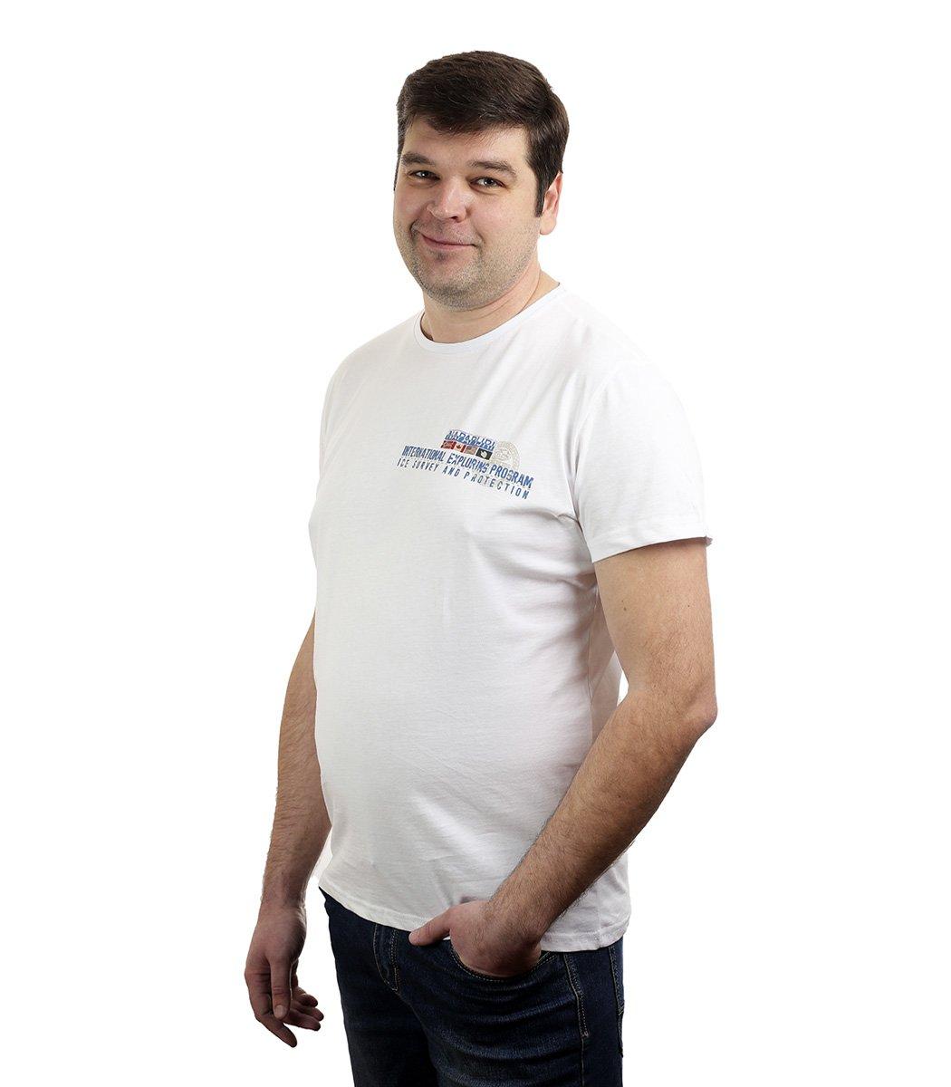 Белая футболка Napapijri - Белый - Вид 2