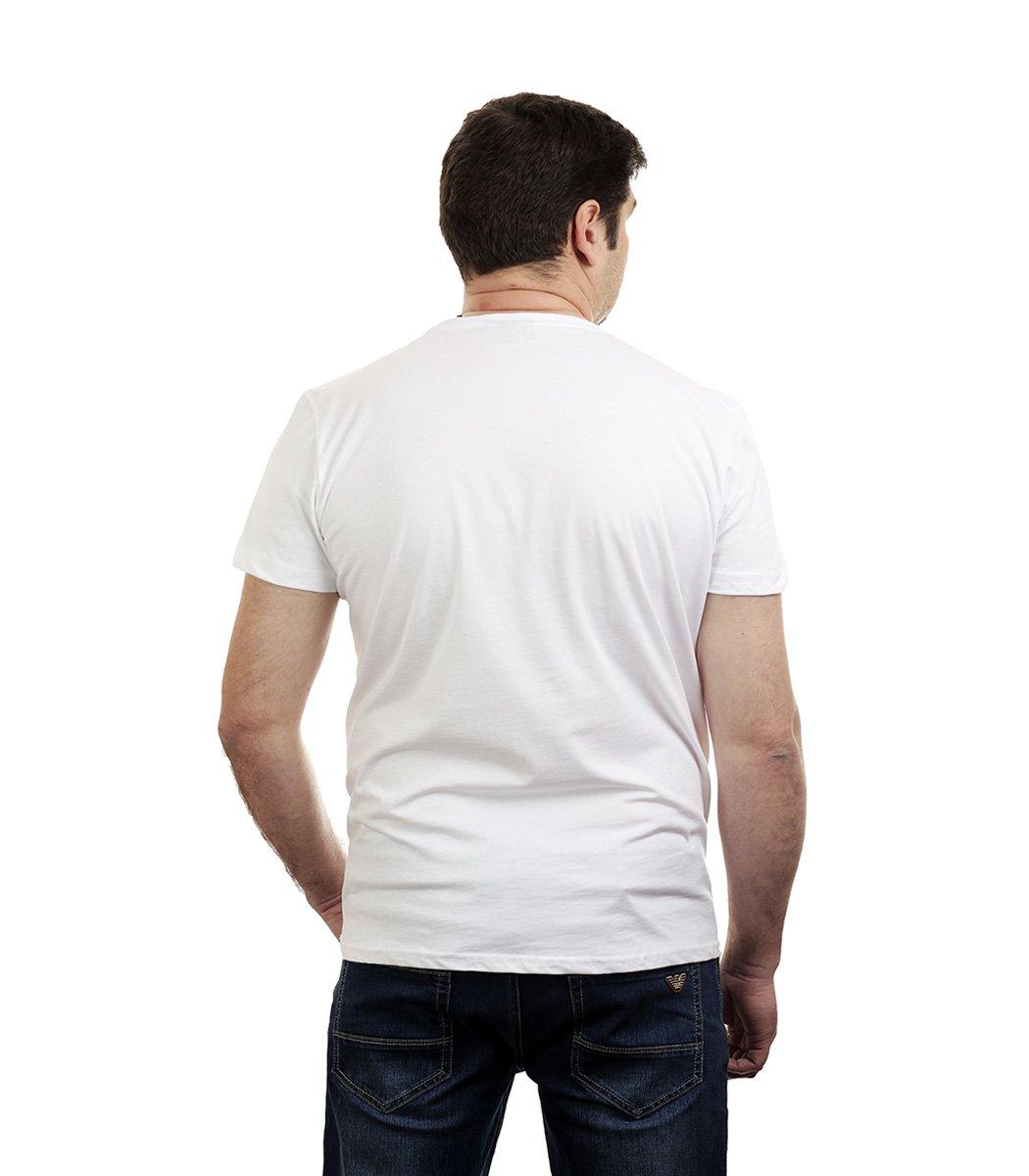 Белая футболка Napapijri - Белый - Вид 3