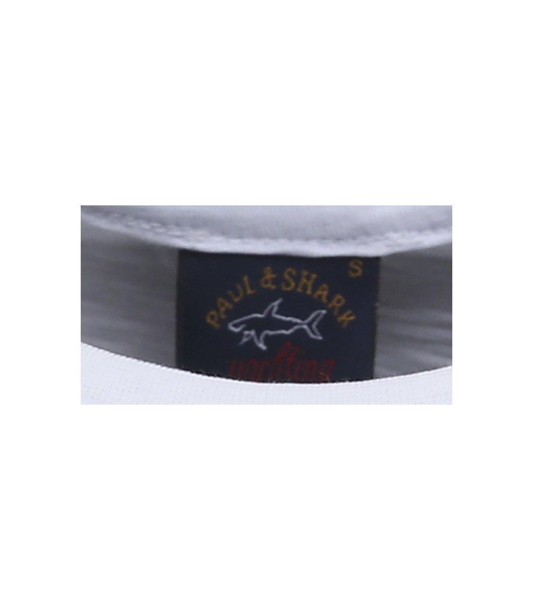 Белая футболка Paul&Shark FP2 - Белый - Вид 7