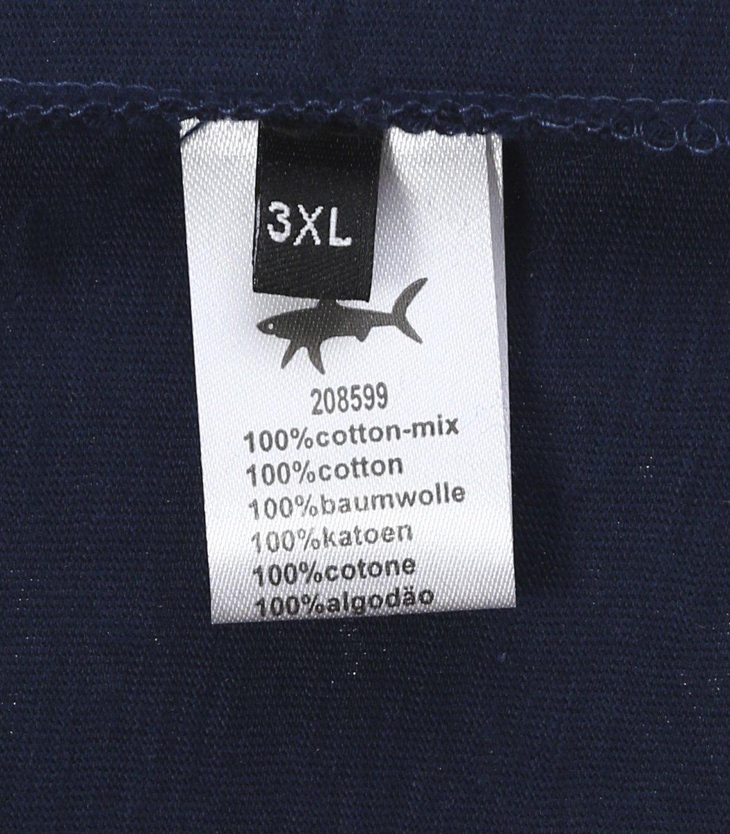 Темно-синяя футболка Paul&Shark FP3