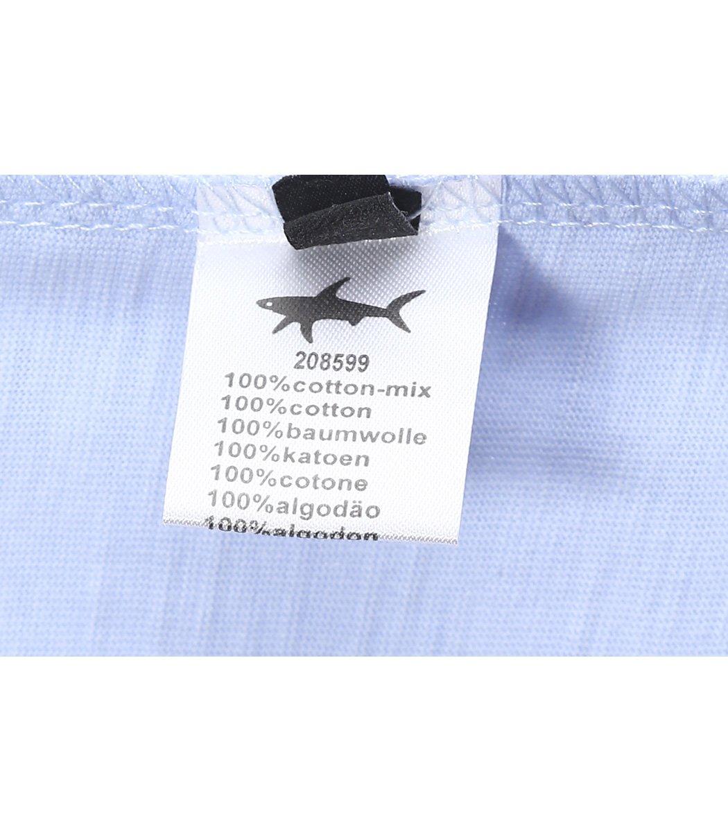 Бледно-голубая футболка Paul&Shark FP3