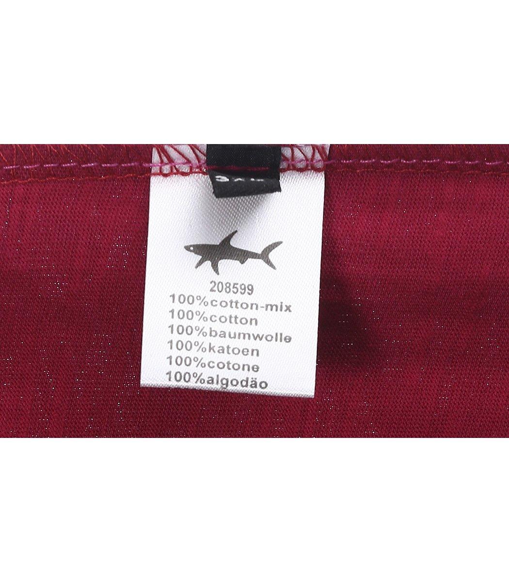 Красная футболка Paul&Shark FP3