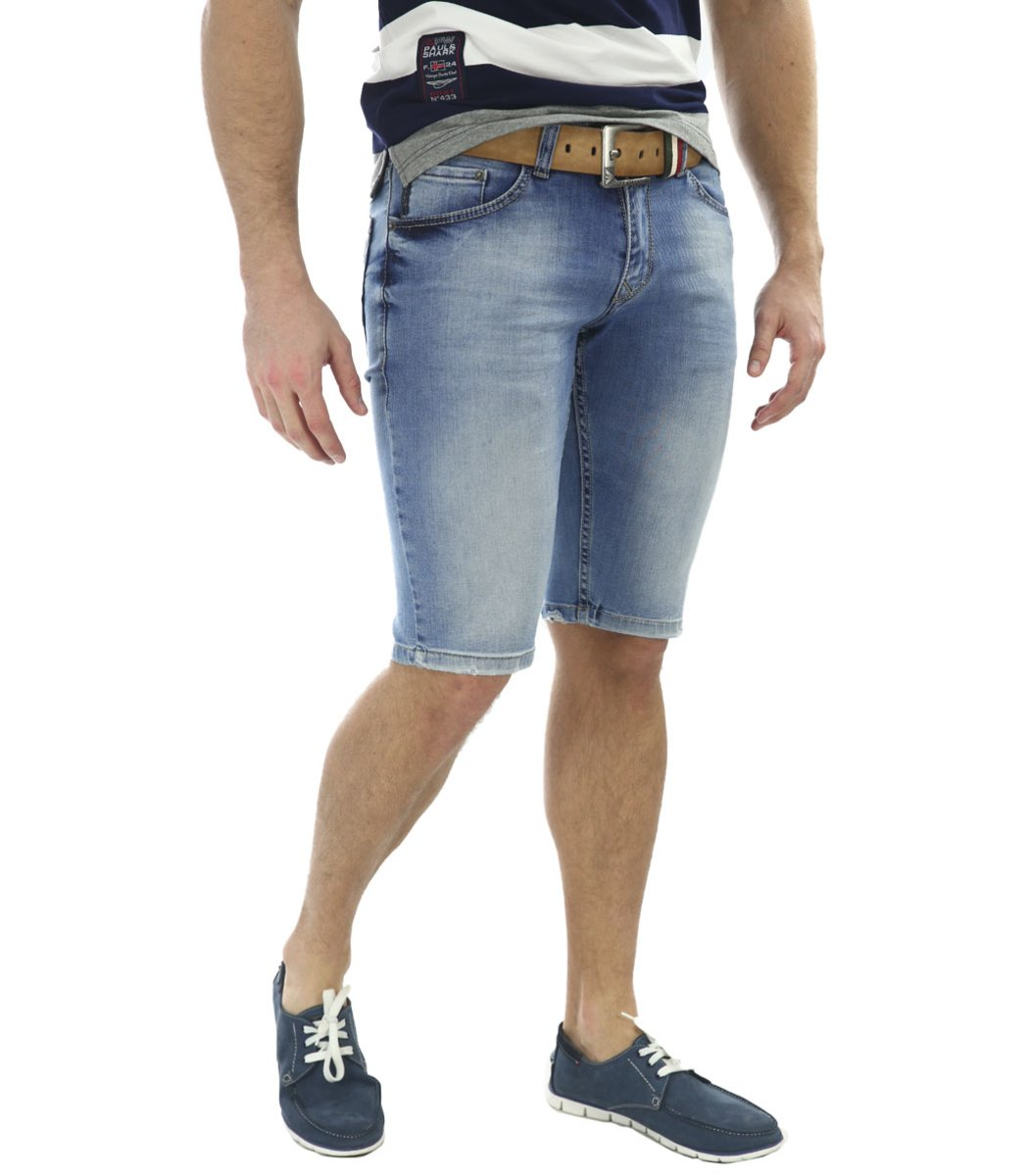 Джинсовые шорты Giorgio Armani+ремень