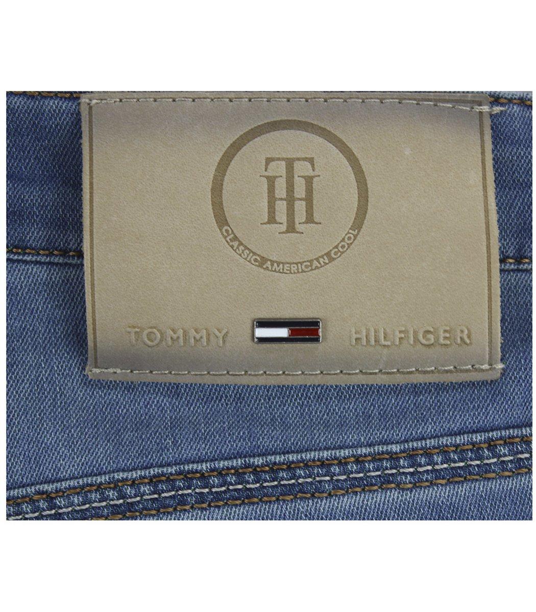 Голубые джинсовые шорты Tommy Hilfiger 12169 - Голубой - Вид 8