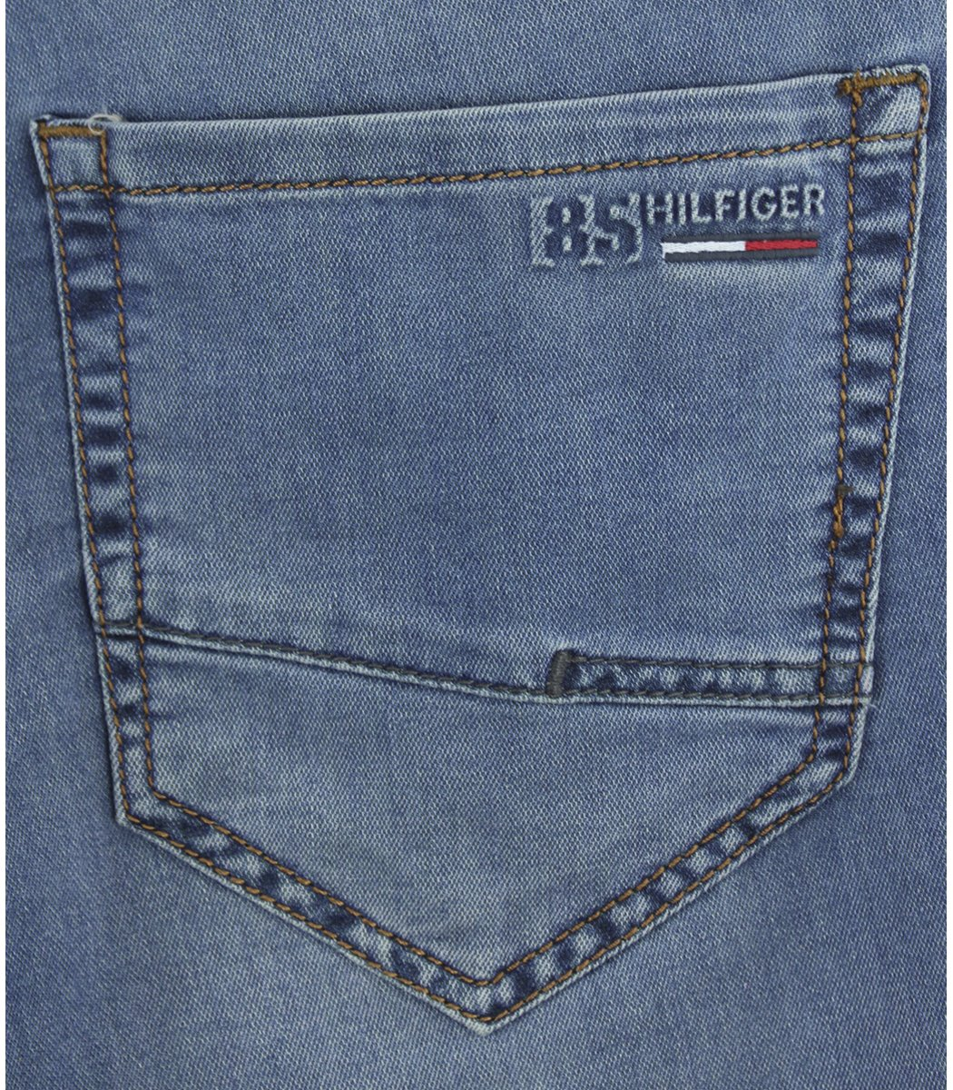 Голубые джинсовые шорты Tommy Hilfiger 12169 - Голубой - Вид 6