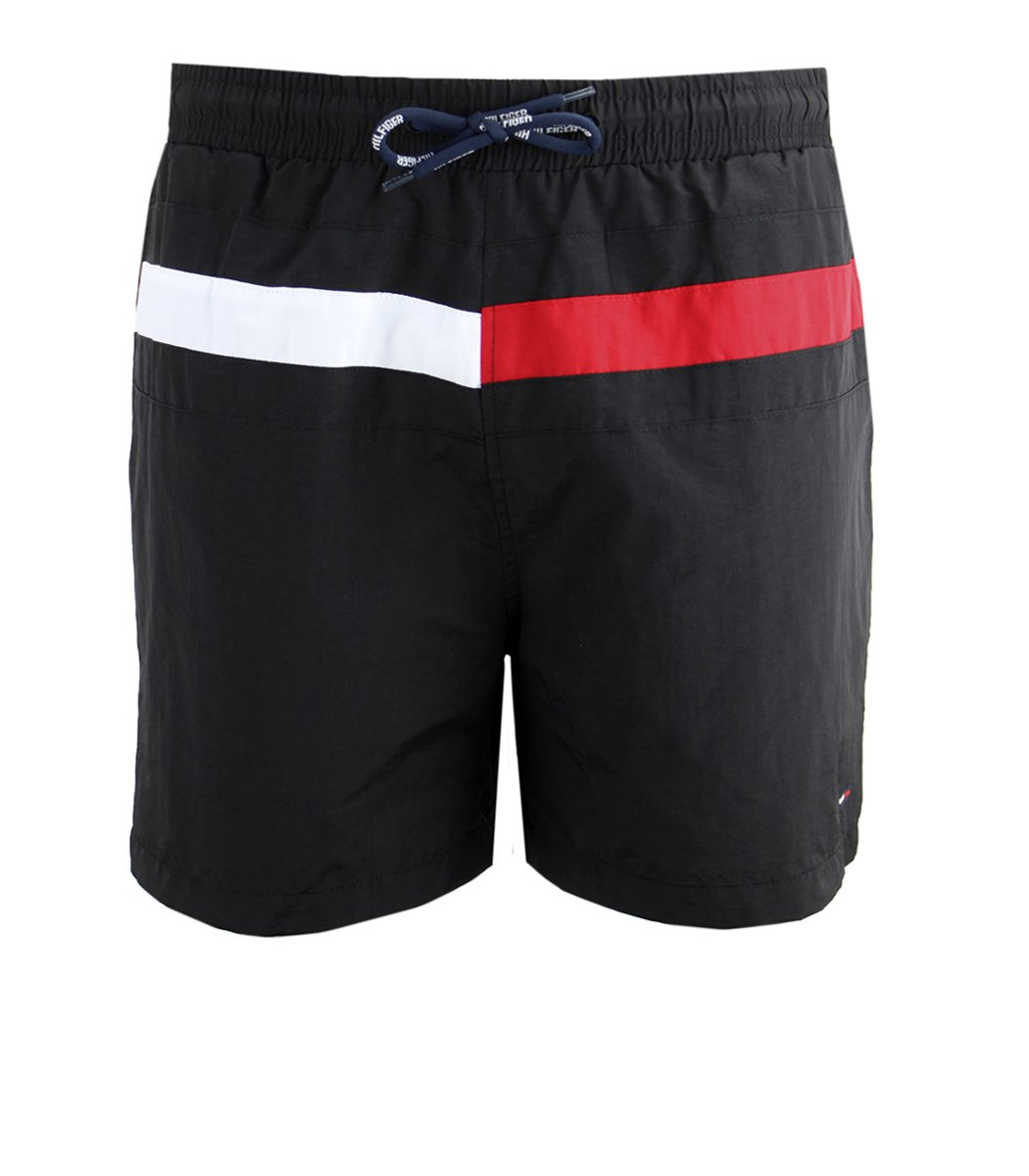 Черные шорты Tommy Hilfiger Dolphin 2 с карманом