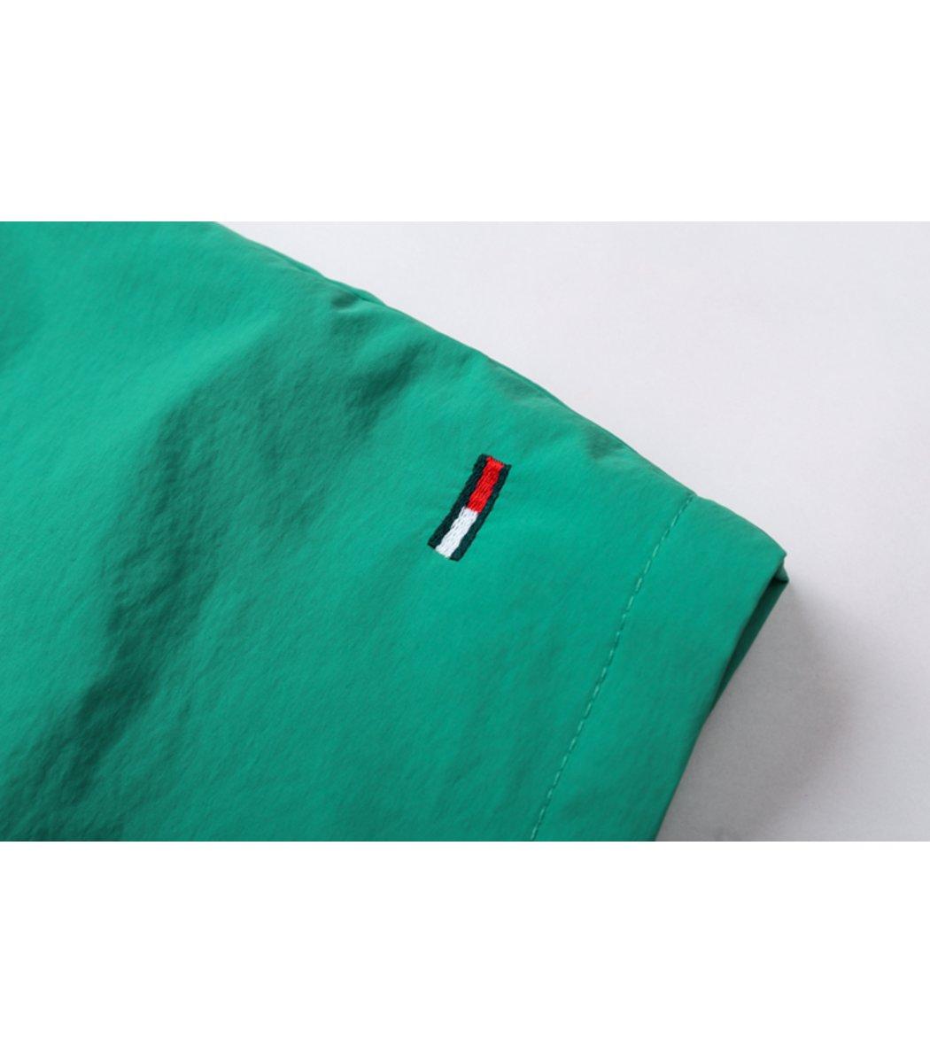 Зеленые шорты Tommy Hilfiger Dolphin 2 с карманом
