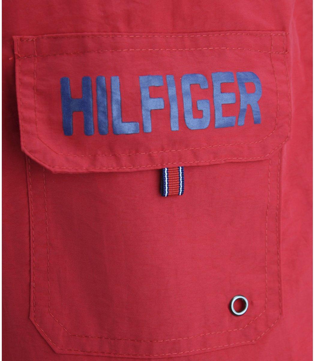 Красные шорты Tommy Hilfiger Dolphin 2 с карманом