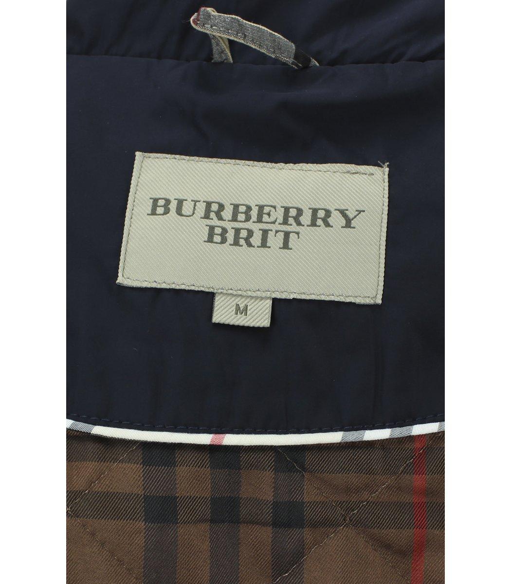 Темно-синяя куртка Burberry 5186