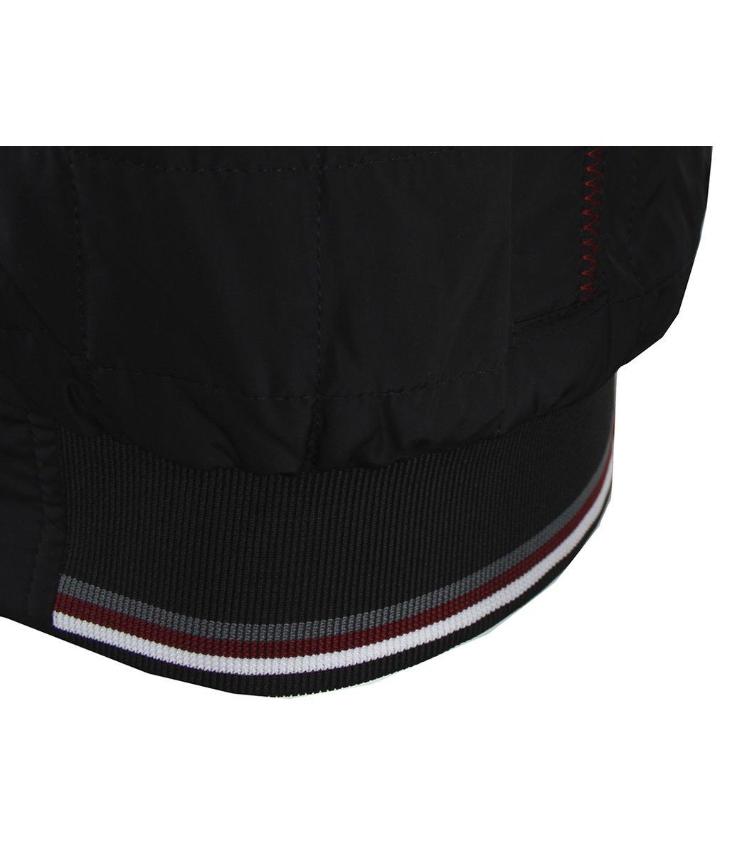 Черная стеганая куртка GANT 5590