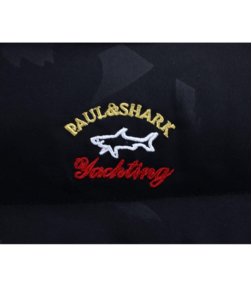 Пуховик  Paul&Shark PS4 Print  (Черный)