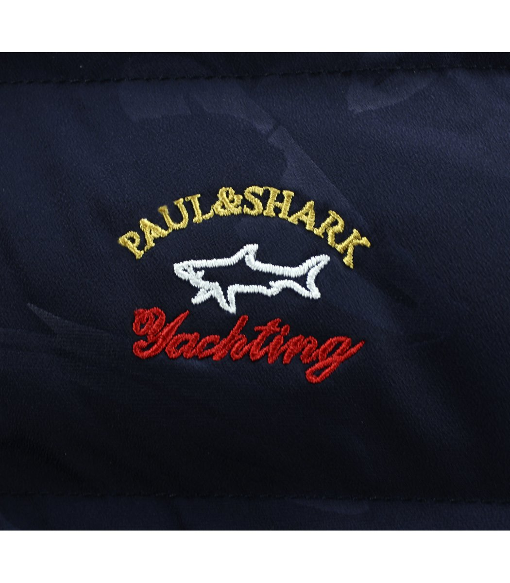 Пуховик  Paul&Shark PS4 Print (Синий)